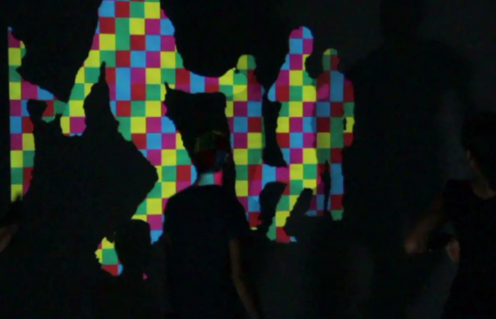 INTERACTIVE PROJECTION HAPPY SHADOW PROJECAO DIVERTIDA
