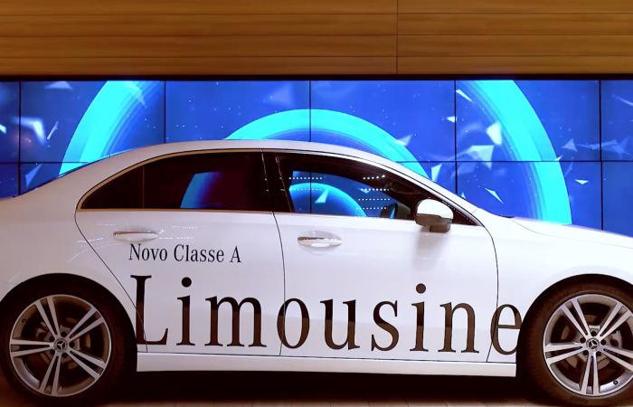 Conteúdos Multimédia Novo A Limo - Mercedes-Benz CascaiShopping